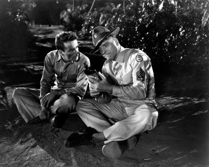 montgomery clift & burt lancaster - from here to eternity 1953